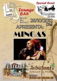 Poster: Matola, JABULANI BBJ & BAR, Av. de Namaacha, October 26, 2012